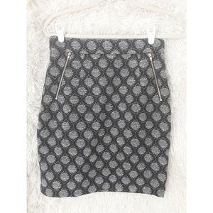 H&M Mod Highwaisted Pencil Skirt